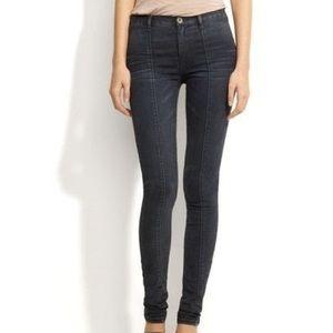 Alexa Chung Madewell Pamela Hi Rise Skinny Jeans